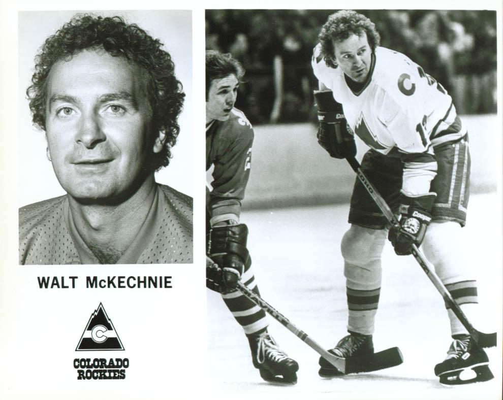 Walt McKechnie Colorado Rockies 8x10 1979-1980