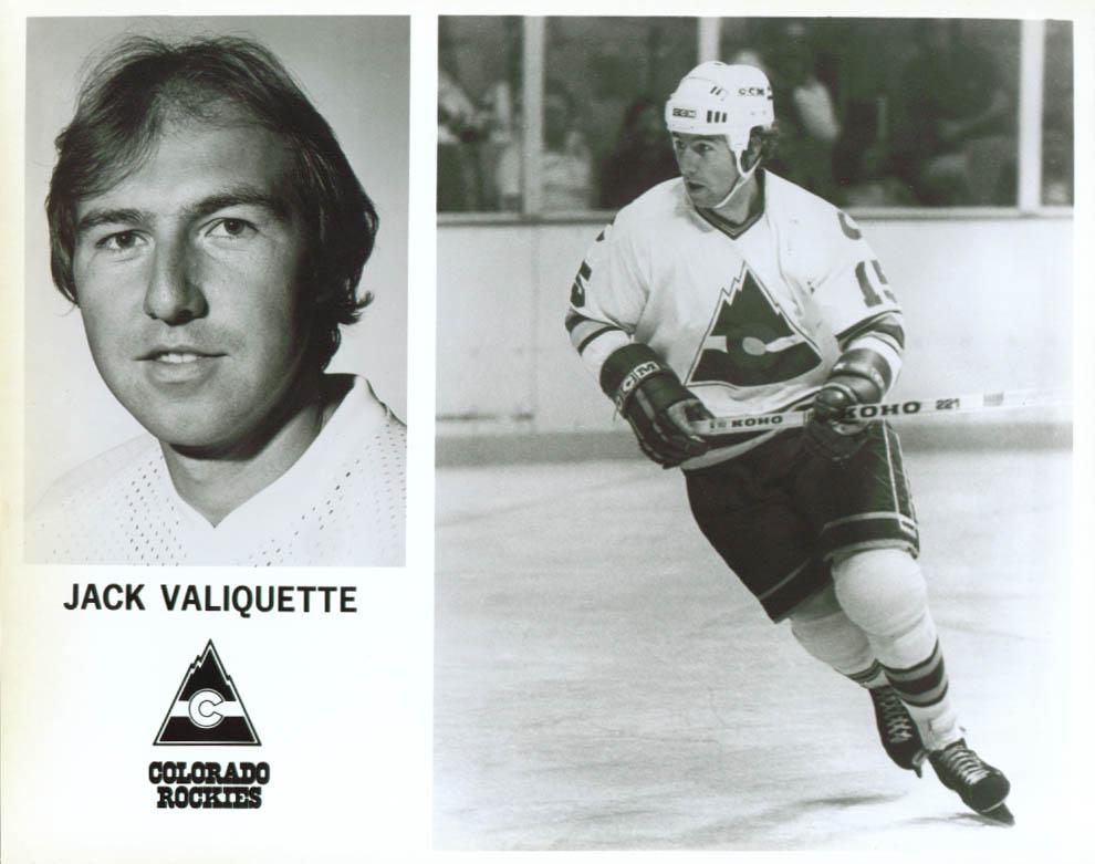 Jack Valiquette Colorado Rockies 8x10 1979-1980