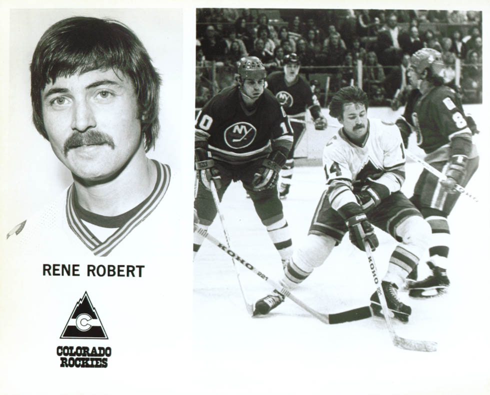 Rene Robert Colorado Rockies 8x10 1979-1980