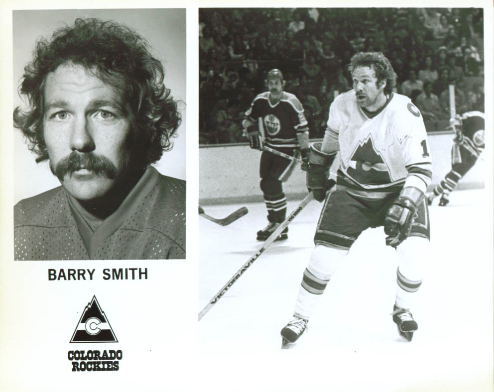 Barry Smith Colorado Rockies 8x10 1979-1980