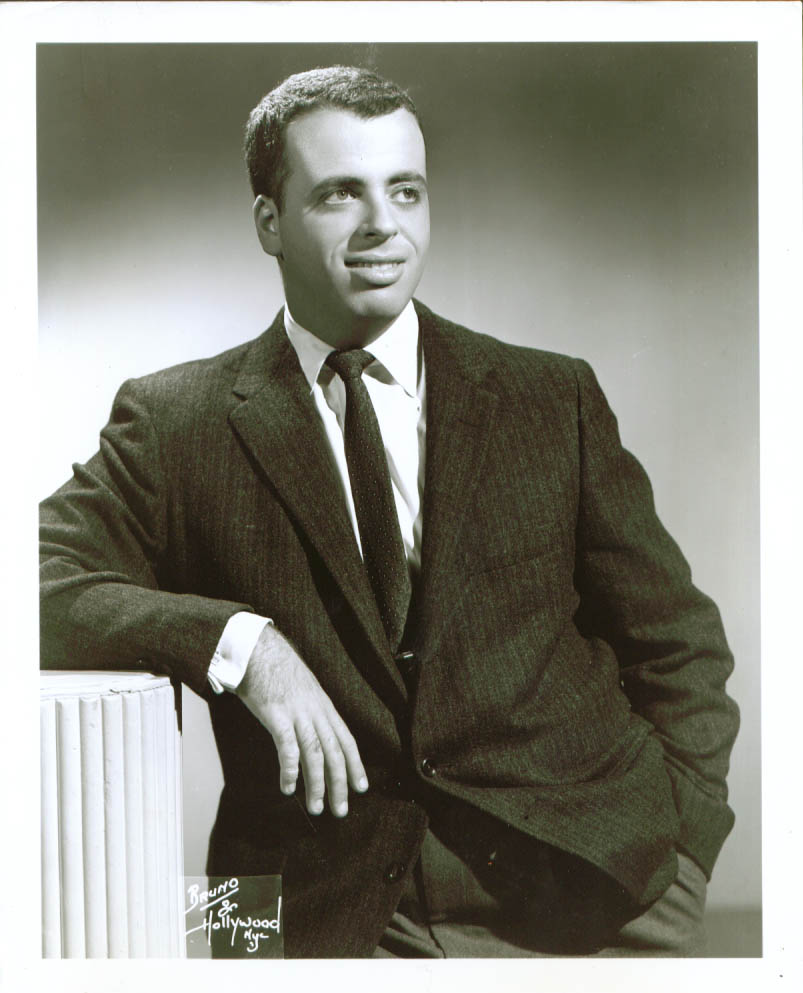 Actor Joseph Richter publicity 8x10 1960s