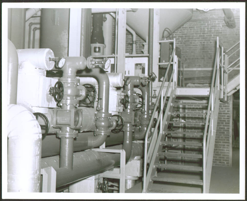 Stairs HCN Plant American Cyanimid Linden NJ  photo '53