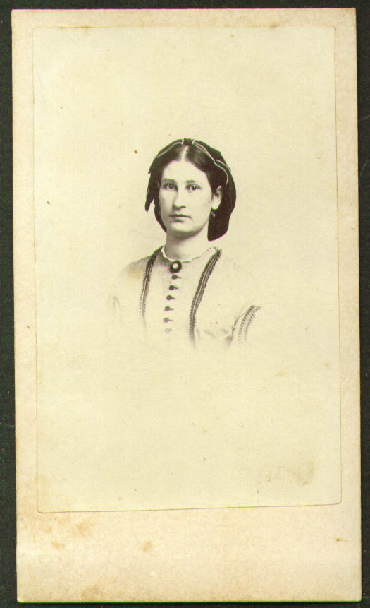 Mary Colby Hubbard ? CDV by W B Eastman Boston