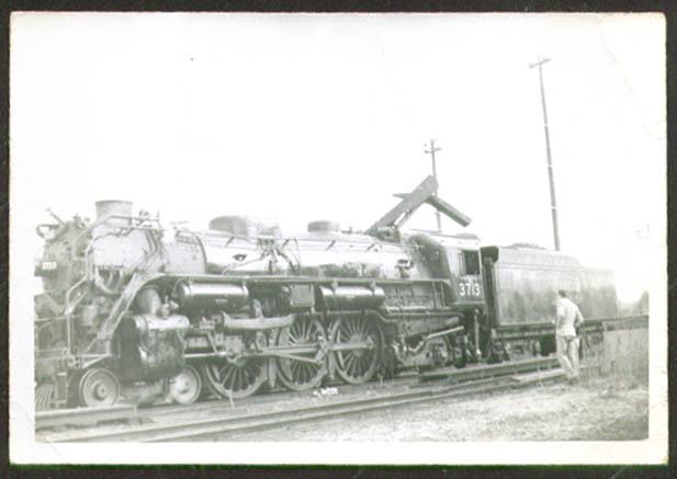 Boston & Maine 4-6-2 Locomotive #3713 photo 1940s