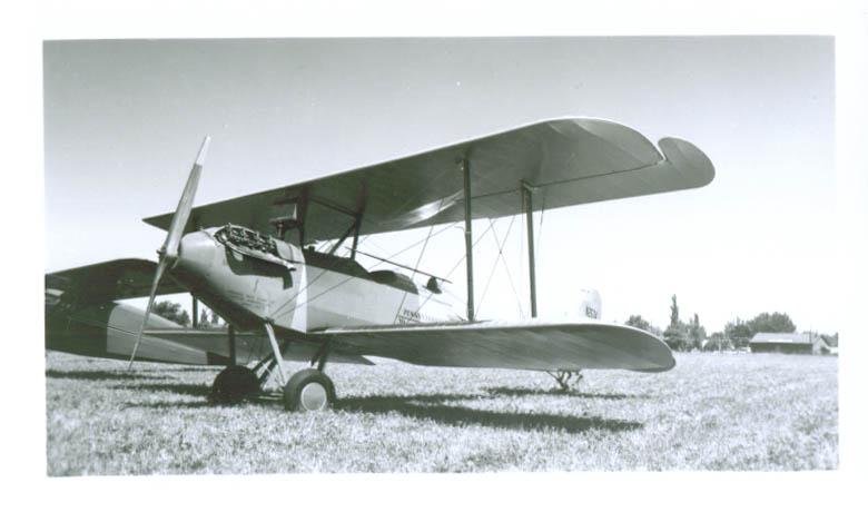 1926 Waco Model 9 Penn Historical Society plane photo