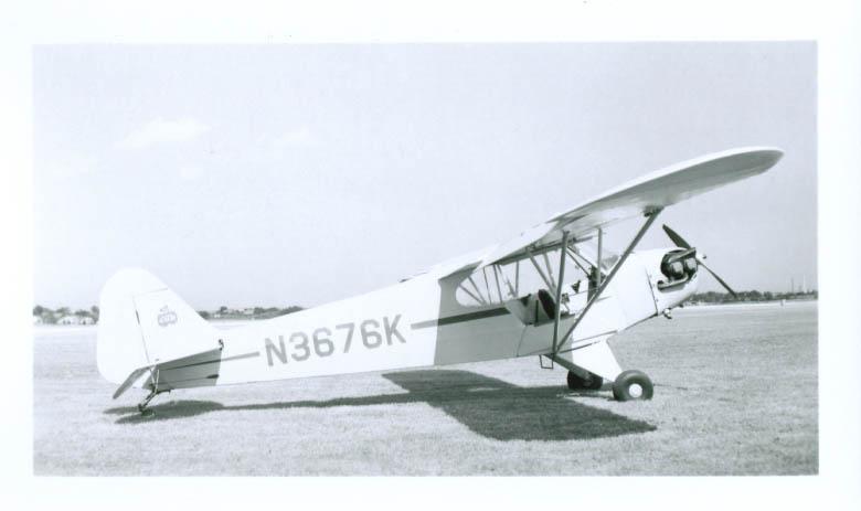 1947 Piper JC3-65 Cub N3676K airplane photo