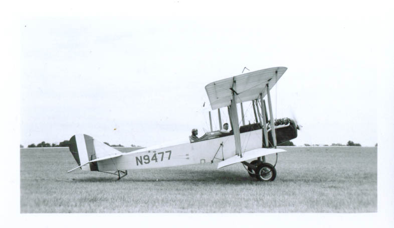 1917 Klessig Standard J-1 N9477 airplane photo