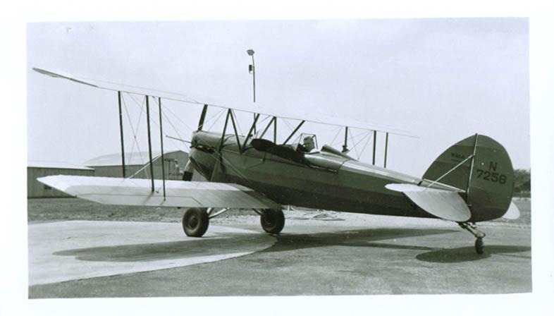 1926 ? Waco GXE N7258 biplane photo
