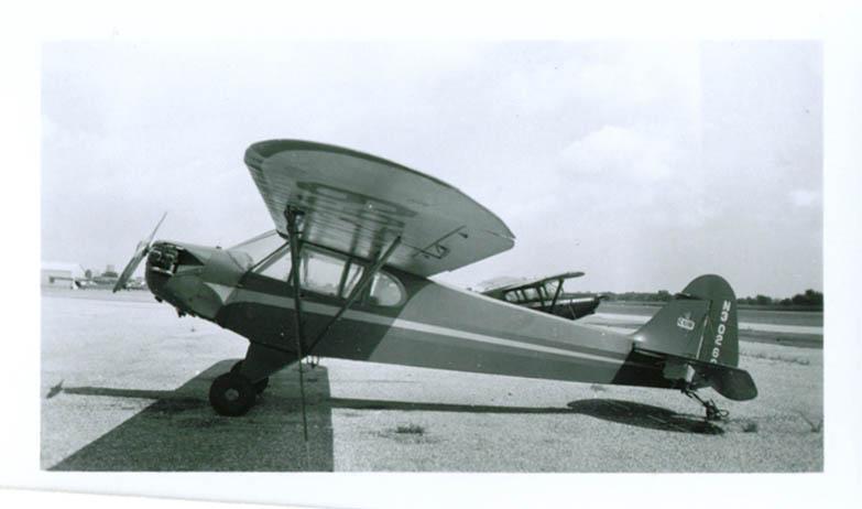 1940s Piper Cub N30269 airplane photo