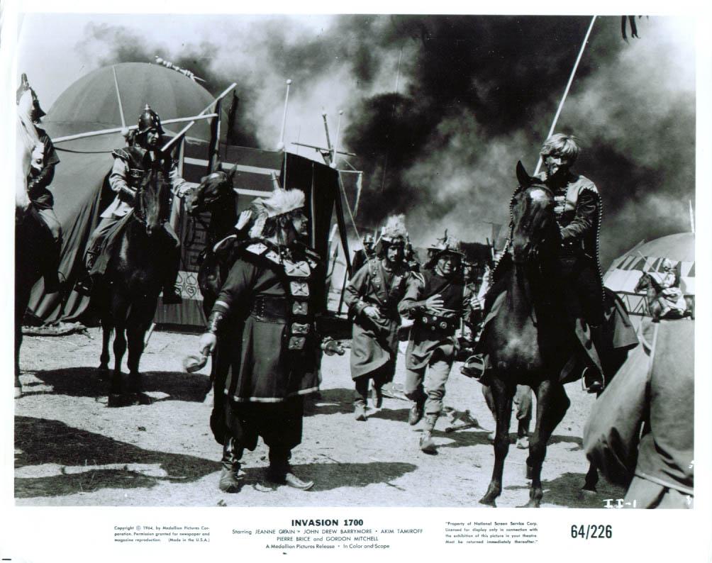 Akim Tamiroff John Drew Barrymore Invasion 1700 8x10 1964