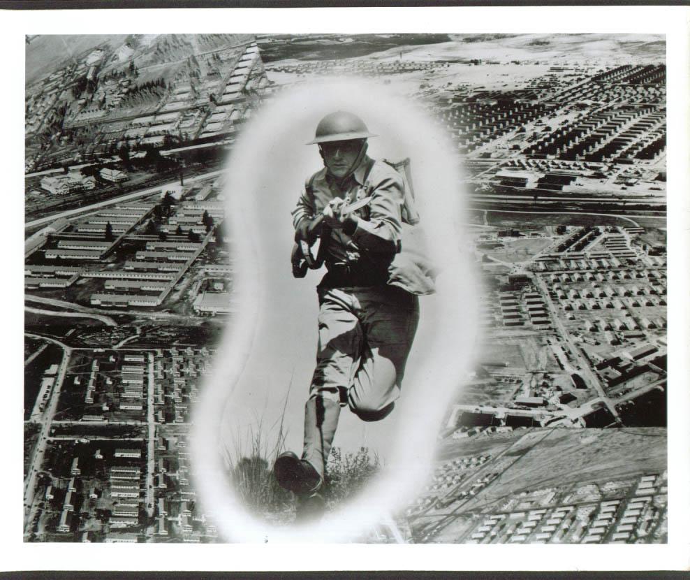 29th Inf Rifleman James C Finley Ft Benning 8x10 1941
