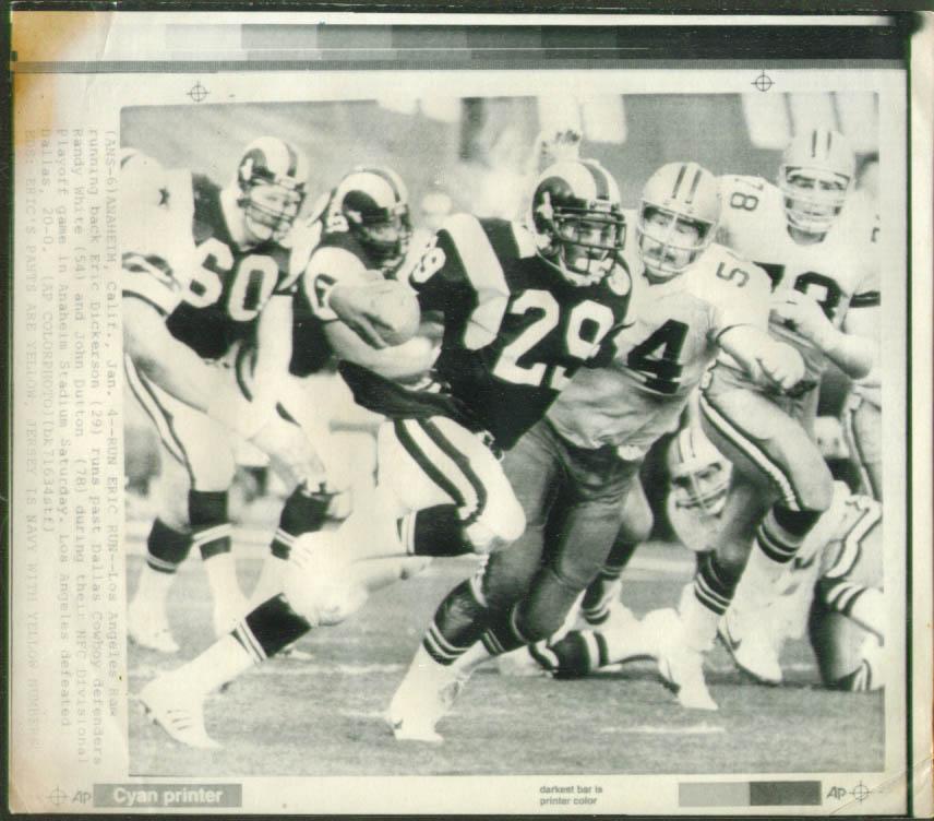 Rams RM Dickerson eludes Cowboys White photo