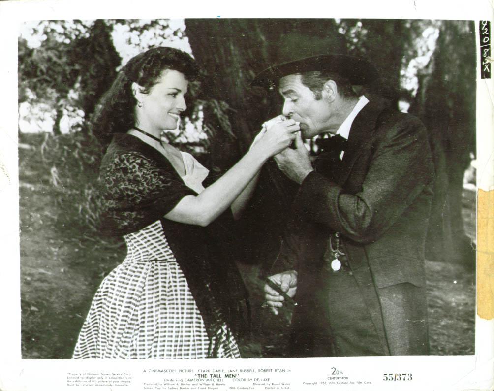 Jane Russell Robert Ryan The Tall Men photo 1955