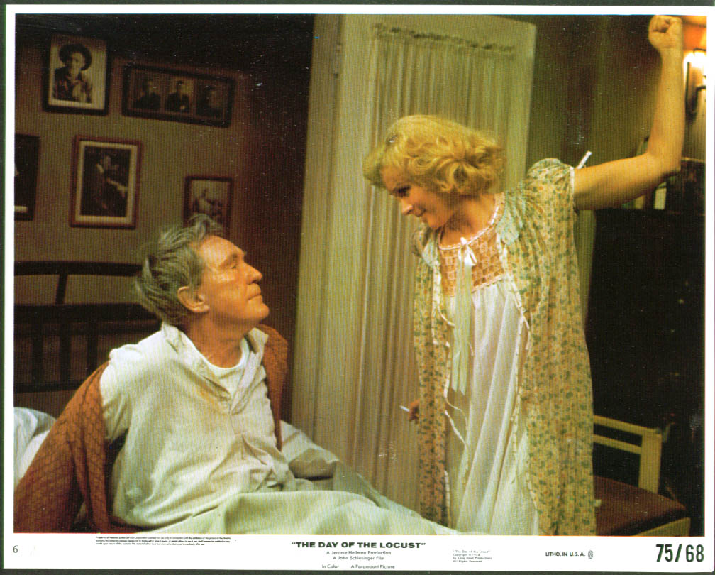 Burgess Meredith Geraldine Page Day of the Locust 8x10 1975