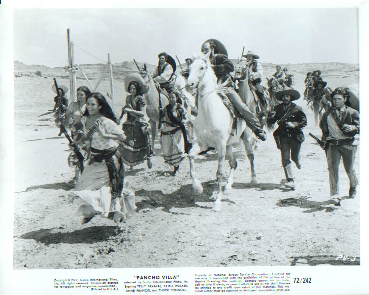 Action Still from Pancho Villa 1972 8x10