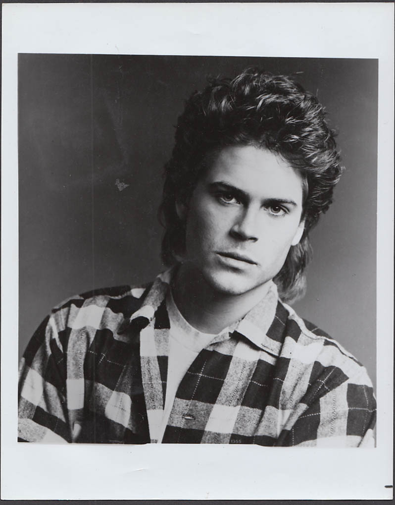 Rob Lowe Publicity Still 1980s 8x10 #1