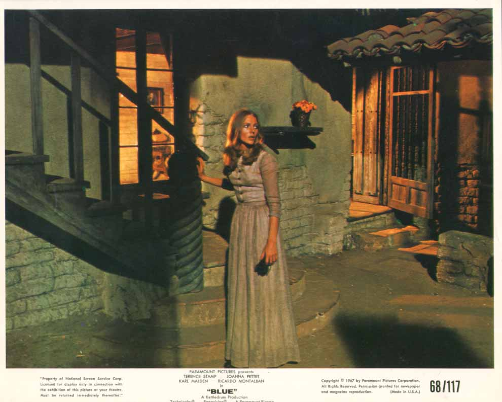 Joanna Pettet Blue 8x10 1968