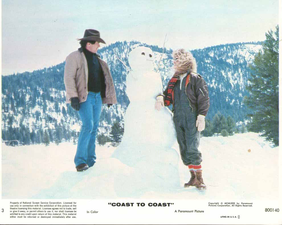 Image for Dyann Cannon Robert Blake Coast To Coast 1980 8x10