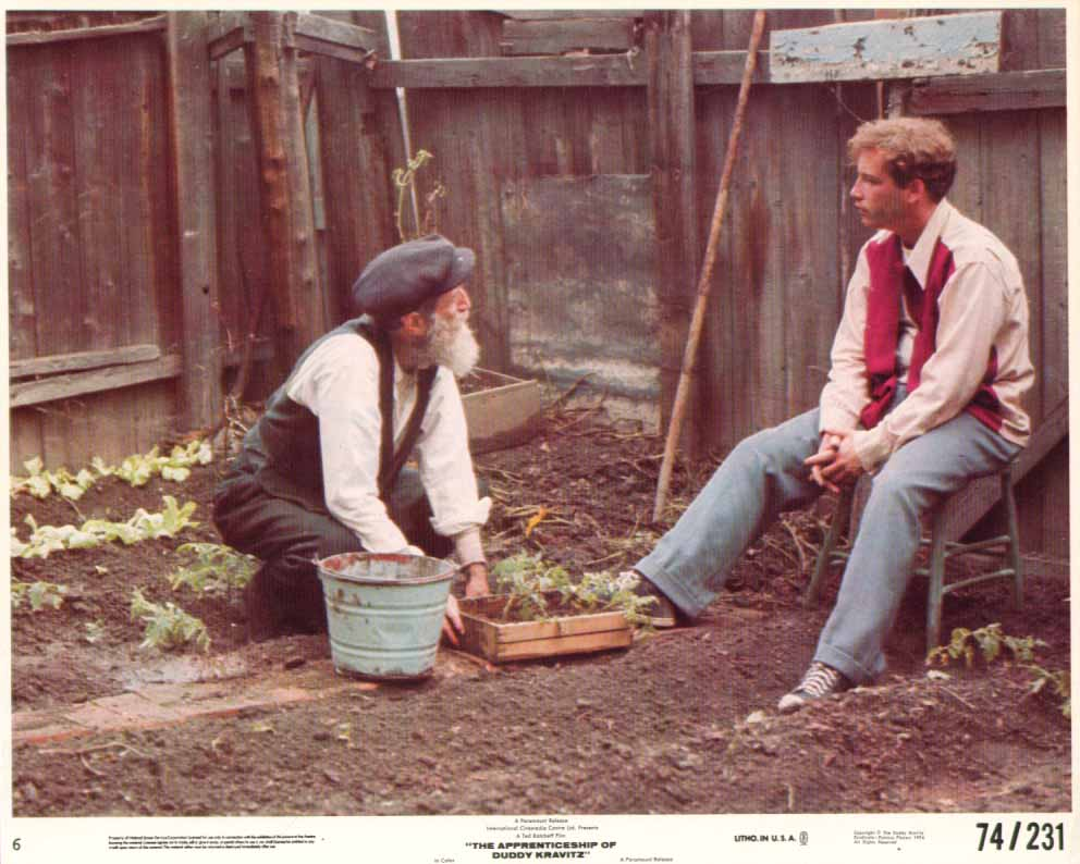 Image for Richard Dreyfuss in garden Apprenticeship of Duddy Kravitz 1974 8x10