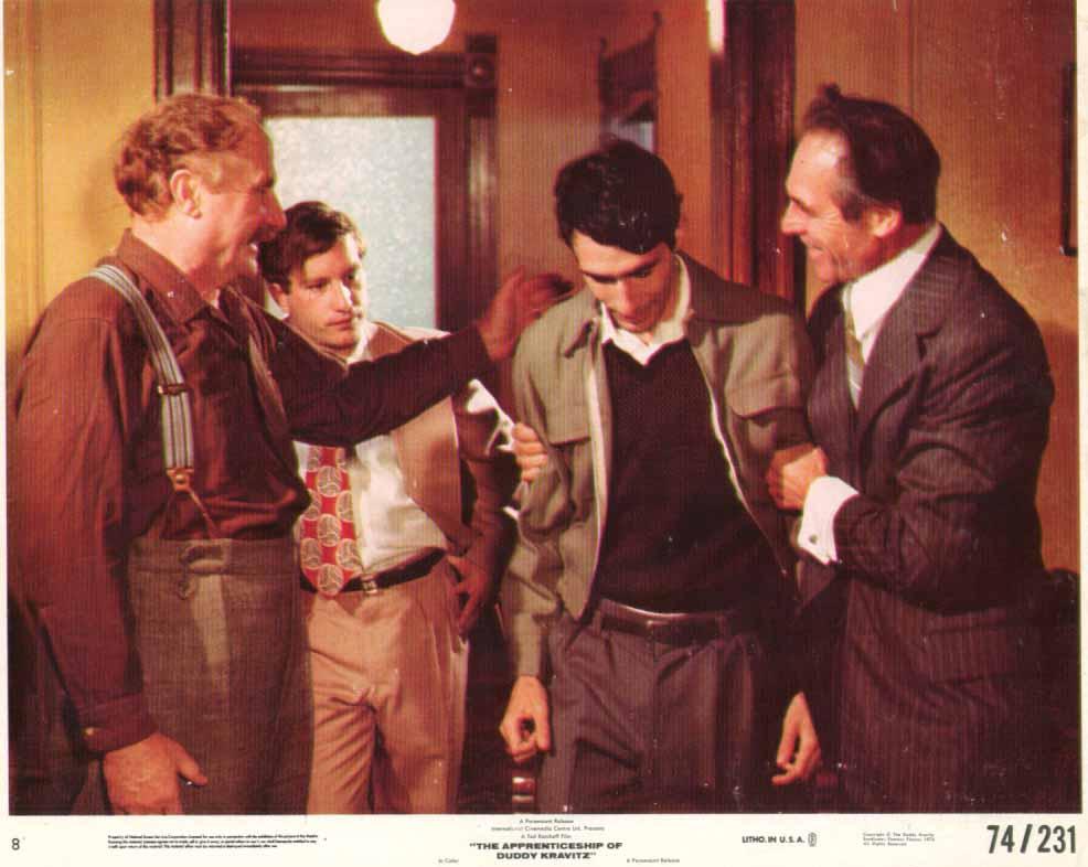 Image for Richard Dreyfuss Jack Warden The Apprenticeship of Duddy Kravitz 1974 8x10 #1