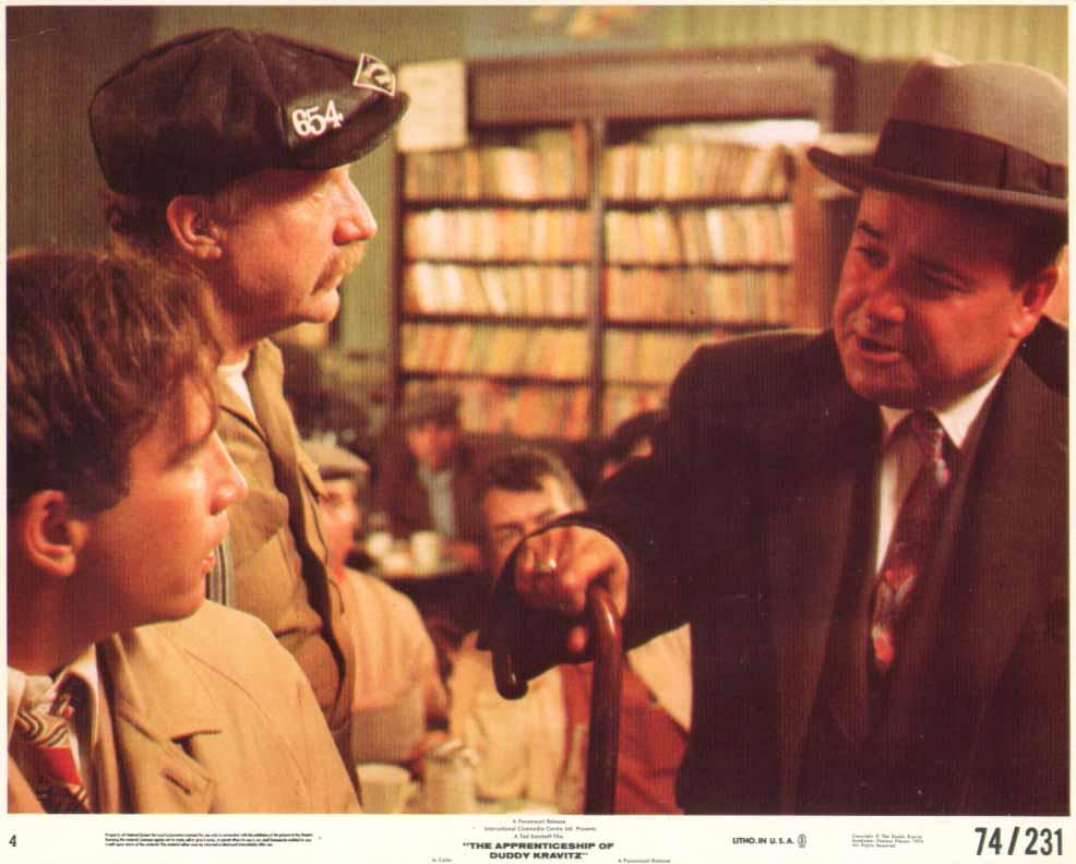 Image for Richard Dreyfuss Jack Warden The Apprenticeship of Duddy Kravitz 1974 8x10 #2