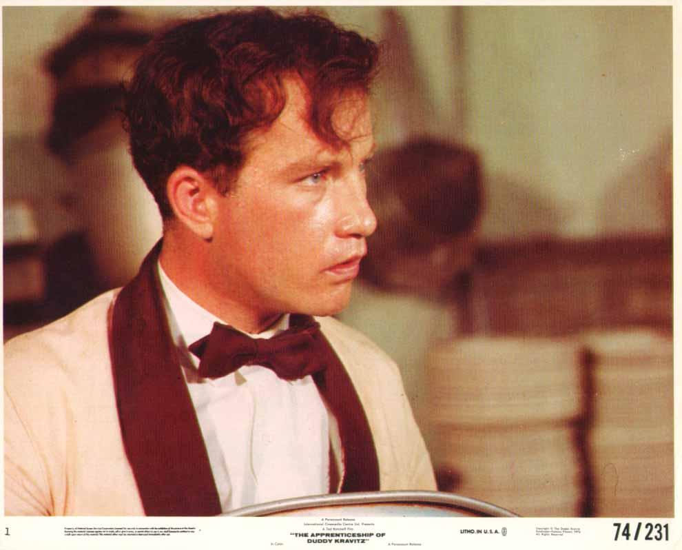 Image for Richard Dreyfuss bowtie Apprenticeship of Duddy Kravitz 1974 8x10
