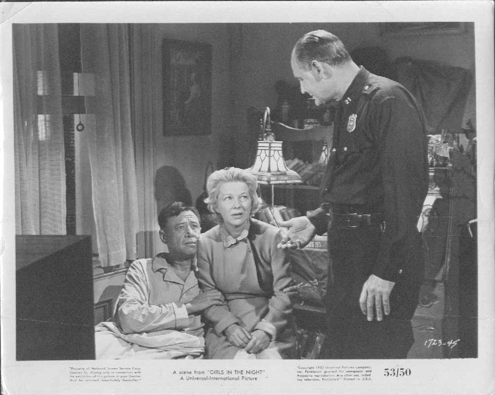 A Scene From Girl's In The Night 1953 8x10