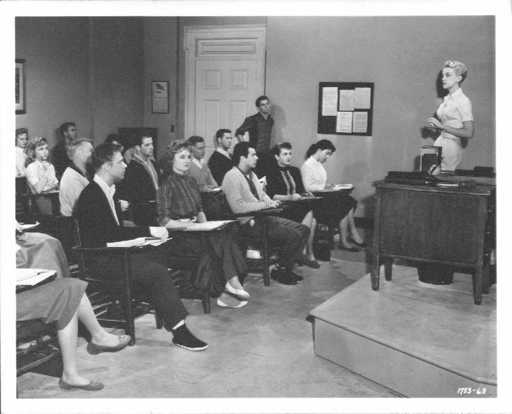 Jan Sterling Russ Tamblyn High School Confidential 1958