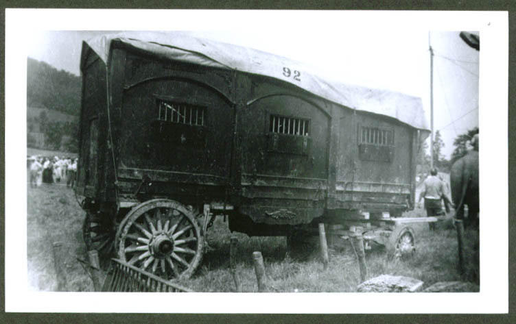 Ringling Bros Circus Animal Wagon #92 photo 1930s