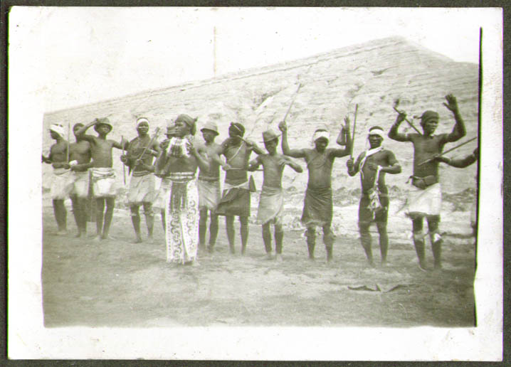 Kaffir War Dance Germiston SA photo 1938