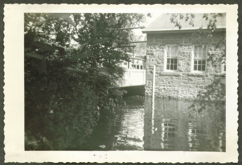 Cloth Room Bridge Ensign-Bickford Simsbury CT 1952 flood