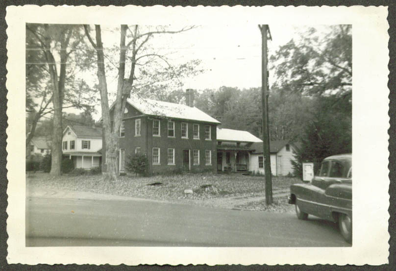 George Deming House Robertsville CT photo 1949