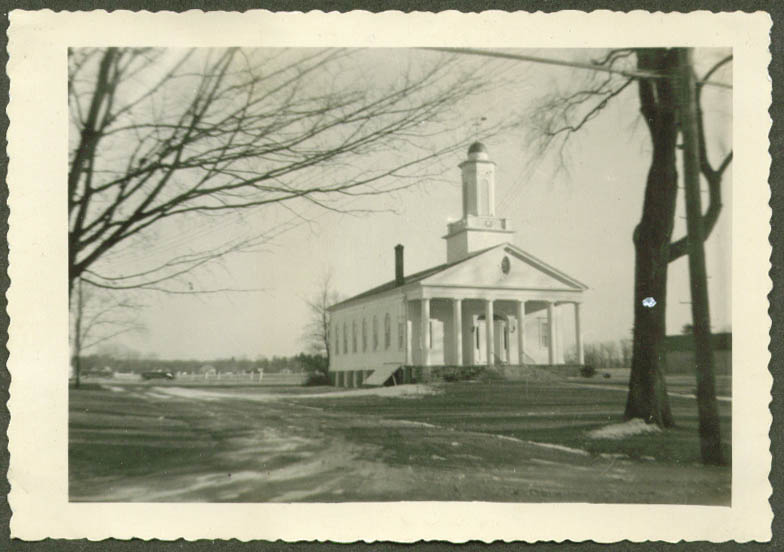 1872 South Congregational Church Granby CT photo 1953