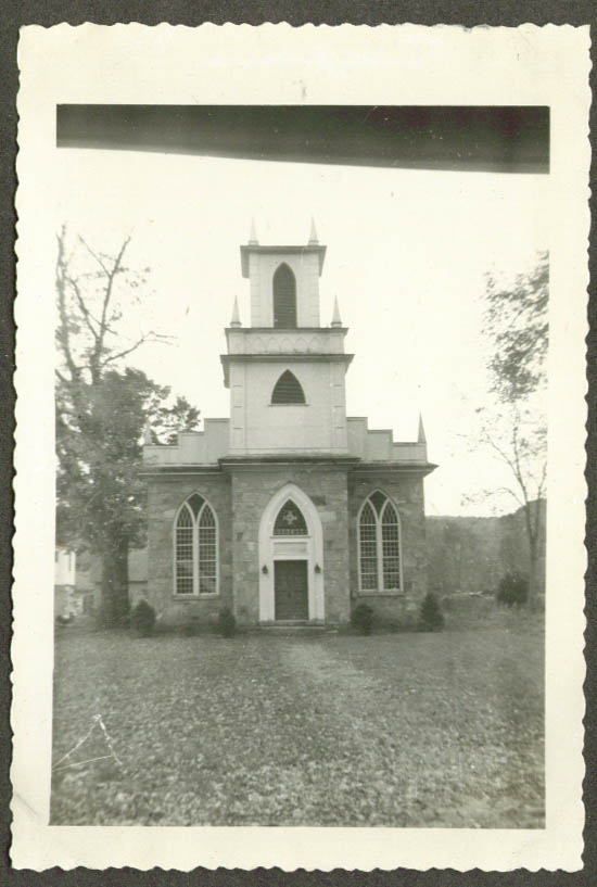 1829 Union Church at Riverton CT photo 1952
