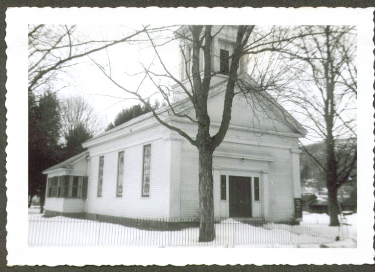 Methodist Church Pleasant Valley CT photo 1952