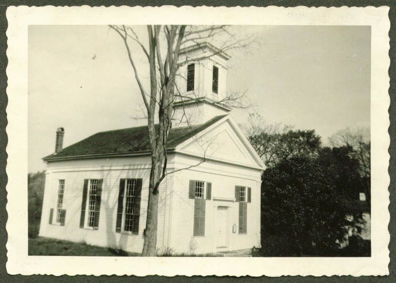 1798 Congregational Church Milton CT photo 1954