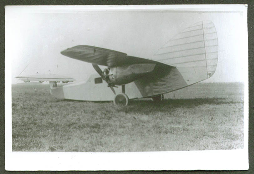 Focke-Wulf F 19 Ente 1st prototype 1927 photo