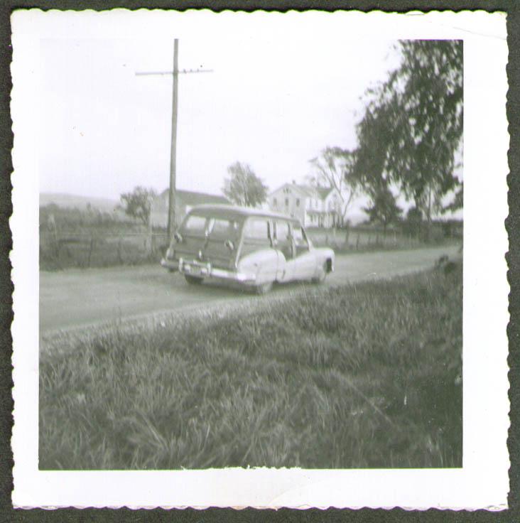 1947 Buick Estate Wagon Millerton NY photo 1950s