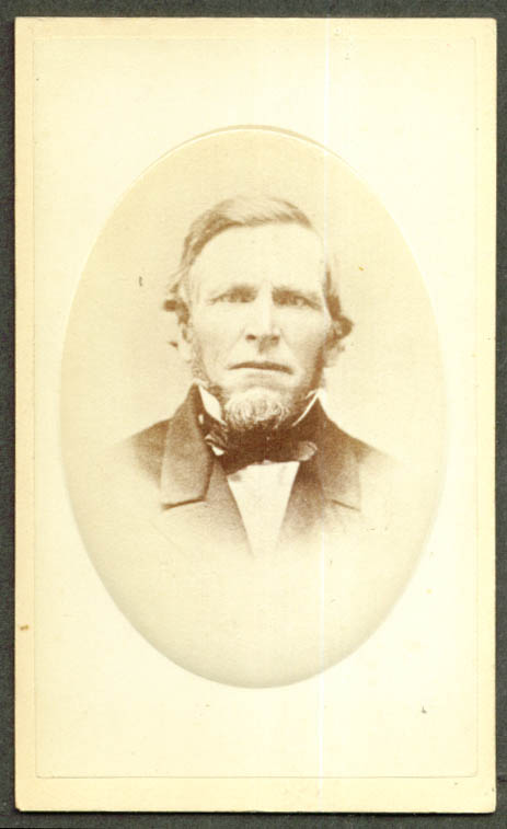 Nelson Keeler CDV by Moore Bros Springfield MA 1860s