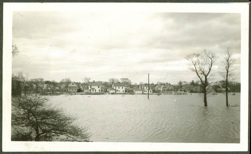 Hubbard-built Homes in Connecticut River flood 1936
