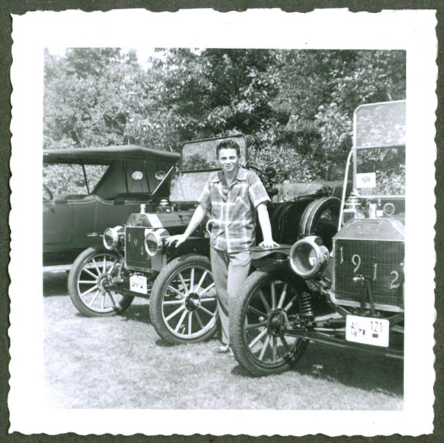 1913 & 1912 Model T Ford Glidden Tour cars 1953 photo