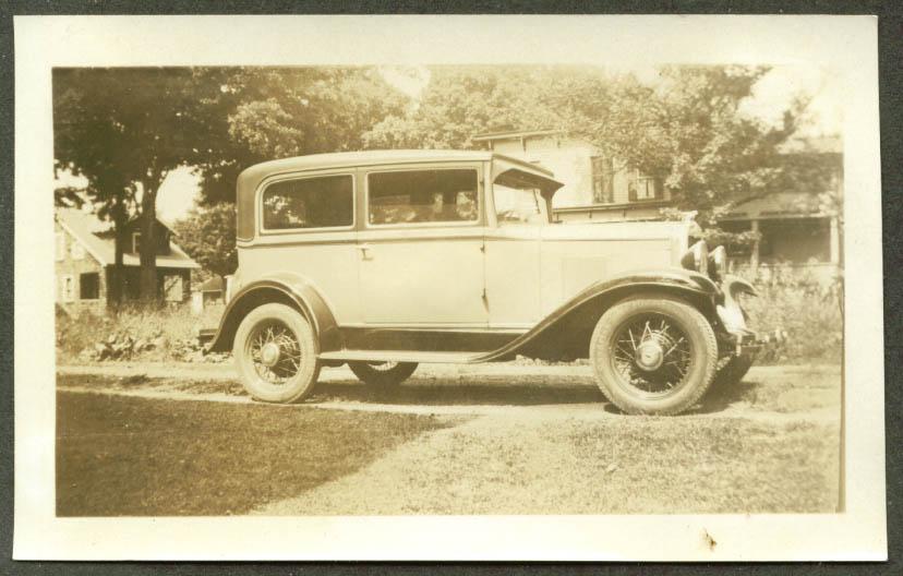 1929 Chevrolet 2-door sedan photo location unknown