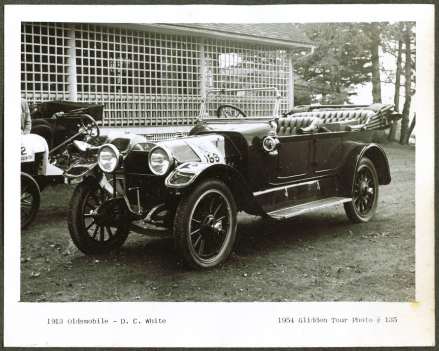 1913 Oldsmobile of D C White Glidden Tour 1953 4x5