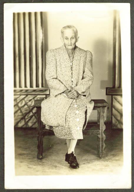Sue Turner, Elean Alderman's sister photo 1945