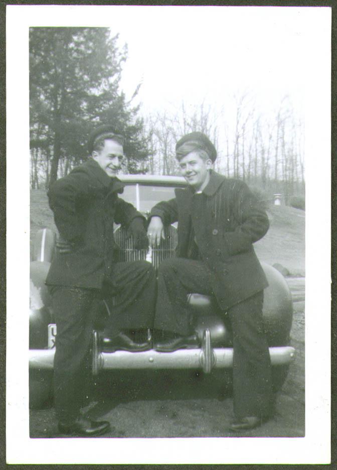 2 crewmen & a Packard USCG CG-83465 photo 1944