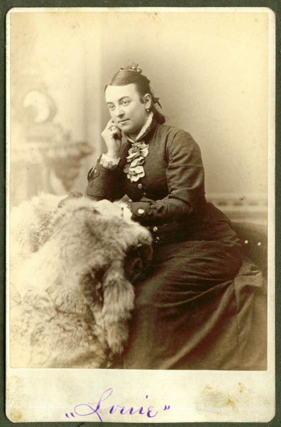 Louise Besant of Chelsea cabinet by Turner Boston MA