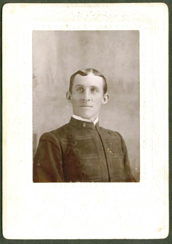 Cpl Charles J Miller Co I 2nd Inf Anniston AL cabinet
