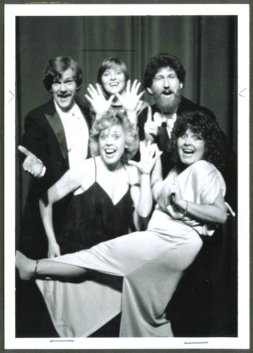 Cast of Our Affair with Astaire Previews SF CA 1960s