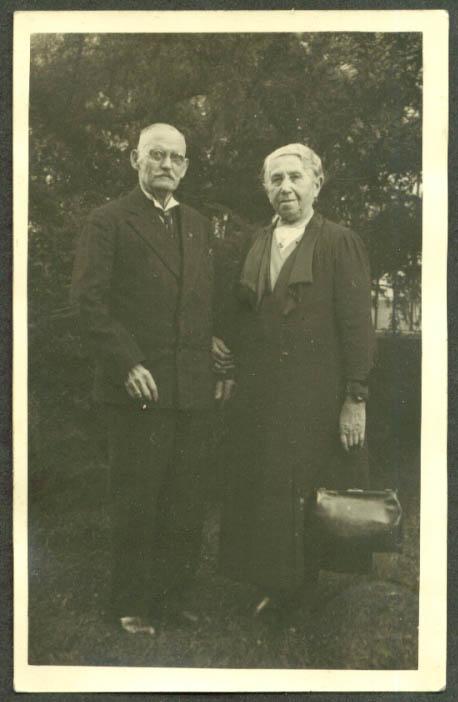 Bertha & Erik Platz RPPC Germany ? ca 1910