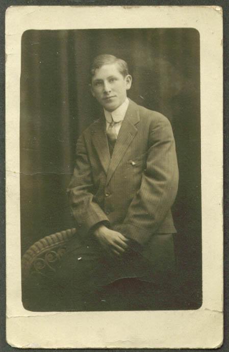 Julius Gross RPPC New York City 1912